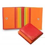 Цветные кожаные кошельки и портмоне DuDuBags, Италия