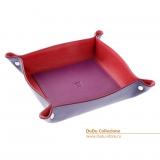 Цветные кожаные тарелки DuDu, Италия