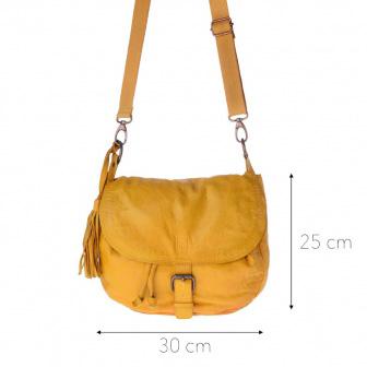 Timeless Bag | Saffron yellow