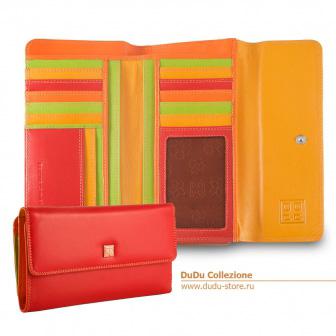 Женское большое портмоне кошелек DuDu Bags