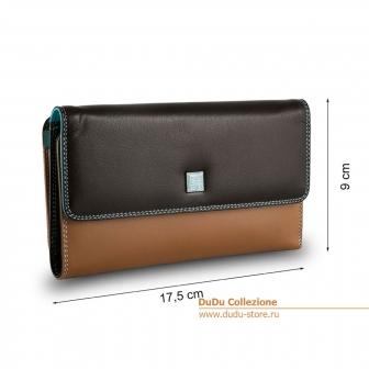 Большой кожаный кошелек DuDu Bags