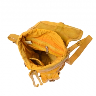 Timeless Backpack | Saffron yellow